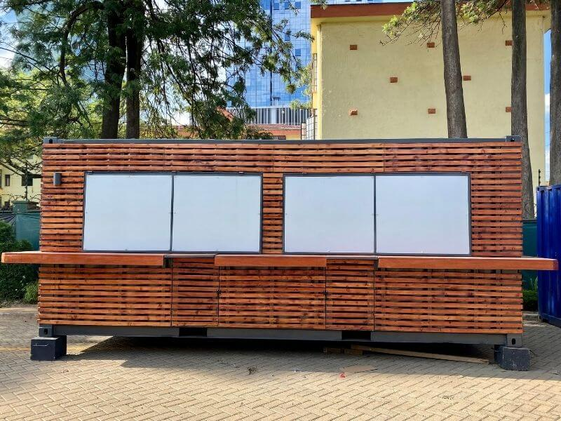 40ft Shipping Container pop up cafe