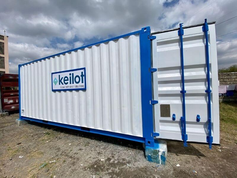 20ft container demonstrarion centre